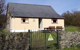 Blaencaron youth hostel (picture not taken by us)