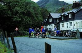 Ready to leave Idwal Cottage youth hostel
