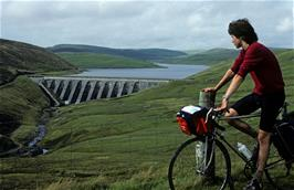 Andrew Billington at Nant-y-Moch reservoir