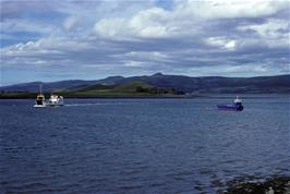 Our ferry draws near at Sconser