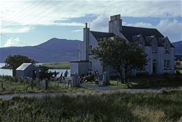 Lochmaddy youth hostel on the Isle of North Uist