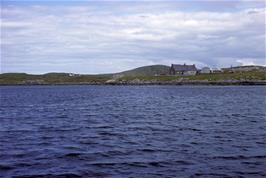 Passing the small island of Berneray