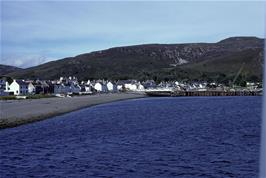 Approaching Ullapool on the mainland