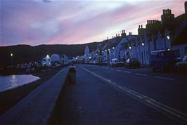 Shore Street, Ullapool at night