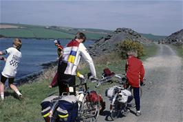 The Camel Trail cycle path from Padstow to Wadebridge