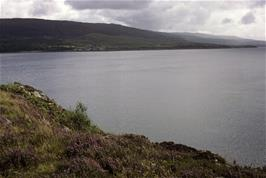 Looking back to Applecross from the coast road