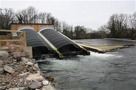 The new River Dart hydro power station at Totnes is now fully operational