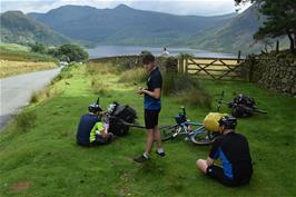 Fabulous views over Crummock Water, from Lanthwaite